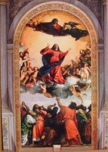 Tiziano - Assunta-Frari